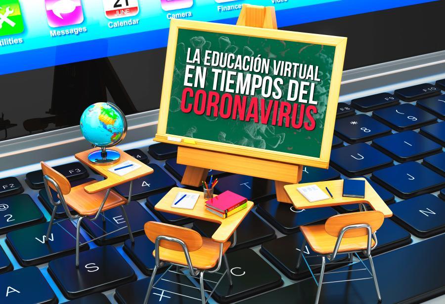 Balance de primer semestre de educación virtual